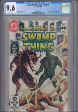 Saga of Swamp Thing #4 CGC 9.6 1982 Marvel Phantom Stranger Back-Up Story