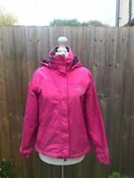 The North Face pink hyvent jacket size xs waterproof rain coat windcheater