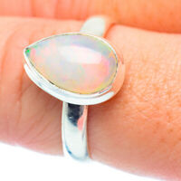 Ethiopian Opal 925 Sterling Silver Ring Size 9 Ana Co Jewelry R35590F