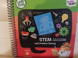 LeapFrog LeapStart 1st Grade Activity Book: Stem With Problem Solving USED