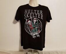 Rare Helter Skelter The Beatles John Lennon Paul MC Cartney Women M Black TShirt