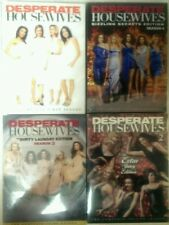 VGC Desperate Housewives:Complete Seasons 1,2,3&4 Special Editions.23 DVD,Covers
