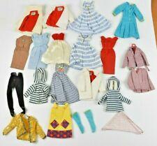 Vintage Barbie Clothes Lot of 20 Sweaters Dresses Blouses Pants Francie Skipper