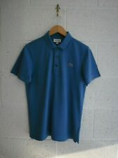 Camisa Polo Lacoste Sport, Devanlay, Talla 3/Pequeño, Azul, Excelente Estado