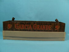 NOS w/ BOX - Garcia Grande Cigars STORE COUNTERTOP DISPLAY with Box Lid Holders!