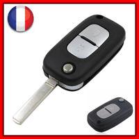 Coque Clé Télécommande Compatible Clio 3/Megane/ Kangoo/Modus /Twingo 2