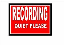 ON AIR  Studio Sign  Recording Studio Sign Wall Hanger on the air STUDIO SIGN