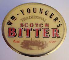 Vintage Pump Clip Badge Wm Younger's Scotch Bitter Breweriana Decor - Free Ship!