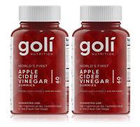 Goli ACV Apple Cider Vinegar Vegan Gummies (2 Months Supply) Natural Health