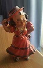 Irwin Wind up Flamenco Senorita Dancing Doll Toy works fine windup