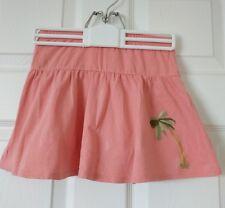 Gymboree Girls Pink Skort with palm tree design Size 6