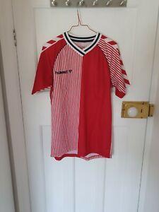 Denmark 1986 Style Football Shirt, Hummel