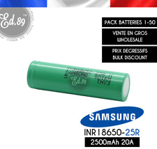 Samsung Pile Rechargeable Li-Ion 2500 mAh (INR18650-25R)