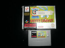 Super Nintendo, Snes - tiny toons buster busts loose -  boxed