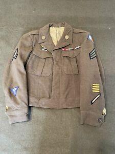 Original American US World War Two Era, Ike Jacket, 9th Air Force