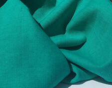 "60""  Linen Rayon Blue Green Turquoise Light & Medium Weight Woven Fabric BTY"