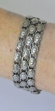 Konstantino Bracelet 3-Strand Sterling Silver Classic Collection New