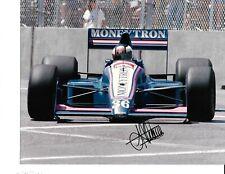 Autographed Stefan Johansson F-1  Racing Photograph