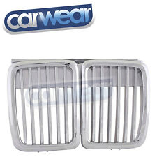 M3 BMW E30 3-SERIES 83-91 CHROME KIDNEY GRILLS SILVER GRILLES 316 316i 318i 320
