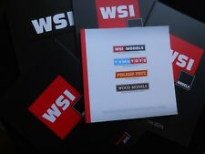 WSI MODELS LOT (5) CATALOGUES NEUFS 2011, 2013, 2014, 2015,2017