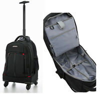 "Aerolite 21"" 4 Wheel Trolley Backpack Business Hand Cabin Luggage Laptop Bag"