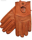 Motorsports Mens Genuine Leather Driving Gloves