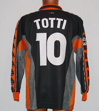 MAGLIA ROMA TOTTI COPPA UEFA JERSEY 1998 1999 NO MATCH WORN ISSUE DIADORA XL L/S
