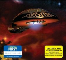 BOSTON - LIFE, LOVE & HOPE [@ BEST BUY FIRST] NEW CD
