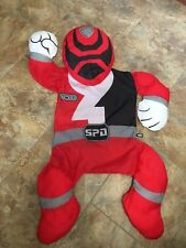 Snugglers Stuff Hug Play Power Rangers Red Mystic Force Pillow Case Nap Pad