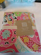 Pottery Barn Teen Paisley Pop Queen Sheet set New with tag