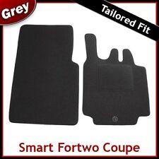 SMART FORTWO COUPE 2003 2004 2005 2006 2007 su misura moquette tappetini Grigio