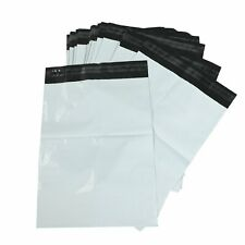 100 Pack 4 x 6 Poly Bags Shipping Mailers Envelopes Plastic White Self Adhesive