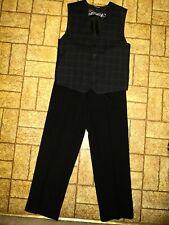 2 Piece Suit w/ 2 Ties by George. Sz. Boy's 12