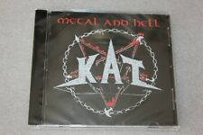 KAT - Metal And Hell CD  NEW SEALED