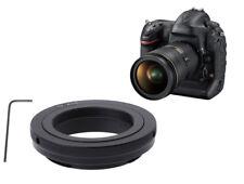 T2-eos T-mount T2 Lens to Canon EOS EF Mount SLR DSLR Camera Adapter - UK SELLER