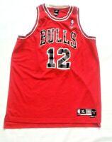 Authentic Kirk Hinrich Men's XL Chicago Bulls Reebok Length +2 Rookie NBA Jersey