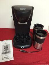 Melitta Take 2 Dual Travel Mug Coffee Maker ME2TMB Pre-owned item