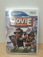 Movie Games (Family Fest) Nintendo Wii Strategy / Puzzle SEALED