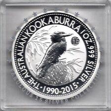 Kookaburra 2015 Privy Mark F15 Fabulous 15 1 Dollar 1 Unze Silber - Doppeldaum!