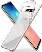 Für Samsung Galaxy S10 PLUS Transparent Silikon Case Clear Cover Handyhülle