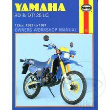 Yamaha RD 125 LC 1982-1984 Haynes Manual de reparación de servicio 0887