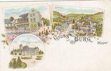 Lithographien vor 1914 aus Nordrhein-Westfalen mit dem Thema Burg & Schloss