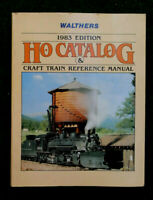 Walthers Ho Catalog 1983 Edition & Craft Train Reference Manual Book Nice