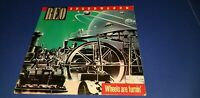 Wheels Are Turnin' by REO Speedwagon (Vinyl, Epic) from 1984