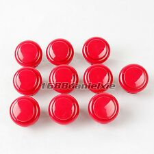 10x OEM 24mm Push Buttons Replace For Arcade Sanwa OBSF-24 OBSN-24 Buttons Mame