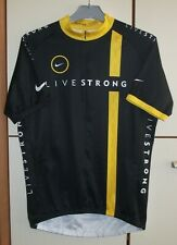 Nike Livestrong Cycling Jersey 3/4 Zip Lance Armstrong Mens size L