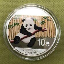 2014  Silver 1oz Gilded China 10 Yuan (s19)