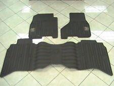 Ram Rubber Slush Floor Mats 82212388 & 82212393 Mopar Front & Rear Brown OEM