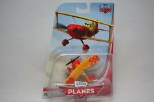 DISNEY PLANES SUN WING BI PLANE ABOVE THE WORLD OF CARS DIE CAST AIRPLANE  MIP