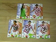 5 Karten Kroatien Panini Adrenalyn XL Road to 2014 FIFA World Cup Brazil
